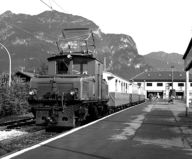 Bf. Garmisch Partenkirchen BZB 24.08.1982 Foto Dr. Neil Clifton (USA)